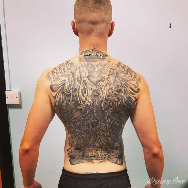Tatuaż Mała część mojego...