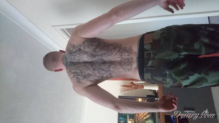 Tatuaż Mały początek...