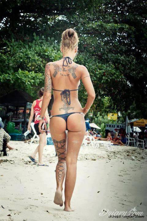Tatuaż Mmmmm cudnie!