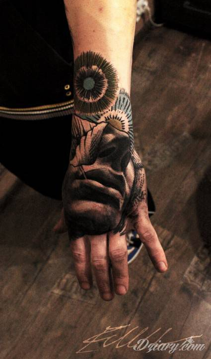Tatuaż Mój drugi