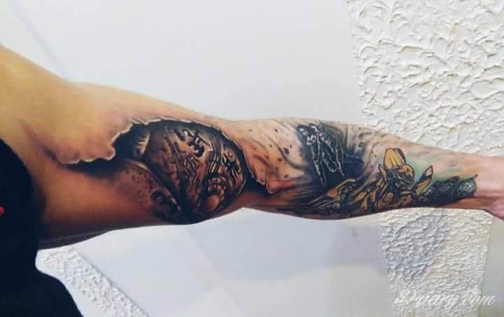 Tatuaż Mój tatuaż, moje...