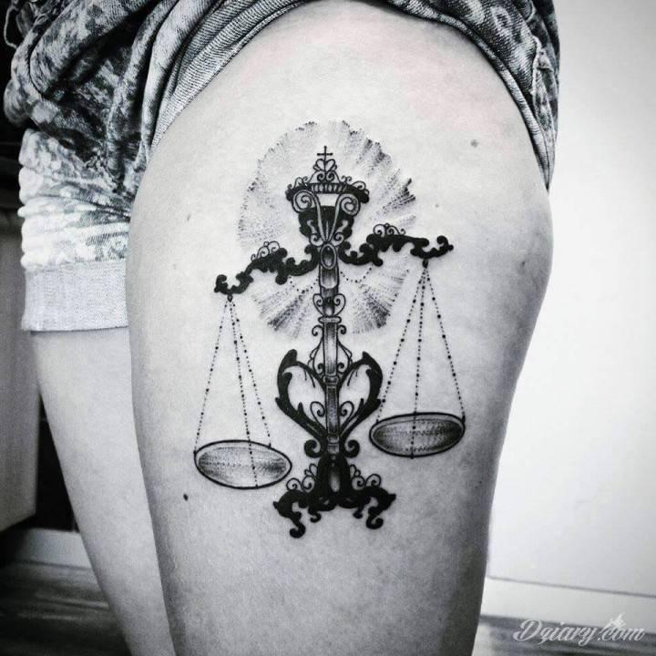 Tatuaż Moja nowa dziarka...