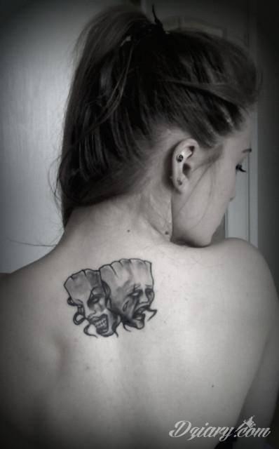 Tatuaż Moja pierwsza, skromna,...