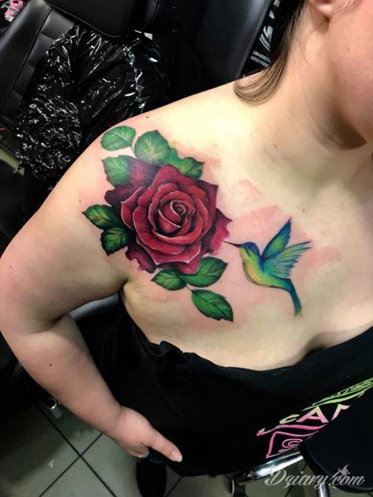 Tatuaż moja praca