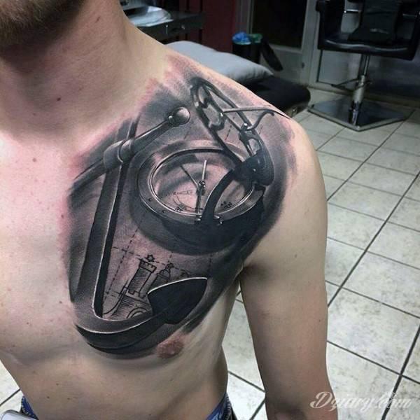 Tatuaż Motyw kotwicy i...