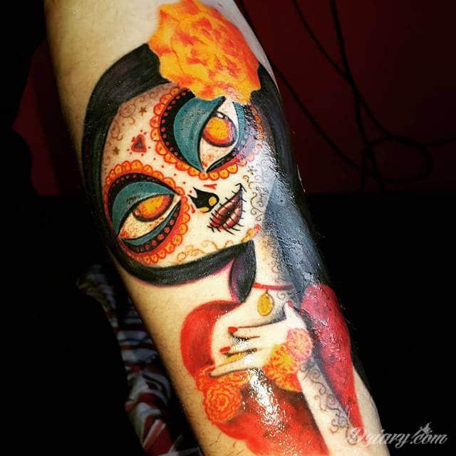 Tatuaż nabyty przed miesiącem...