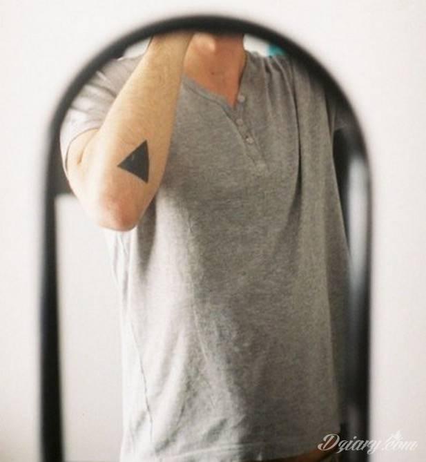 Tatuaż Nasza egzystencja ma...