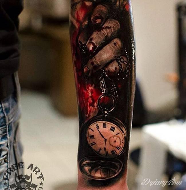 Tatuaż Nic tak nie...