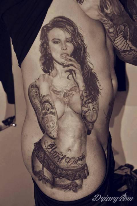 Niesamowity tatuaż!
