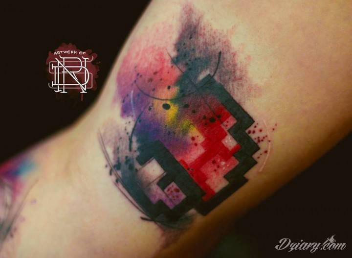 Tatuaż Odwiedź inne rzeczywistości,..