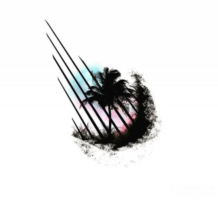 Tatuaż Palmy #art