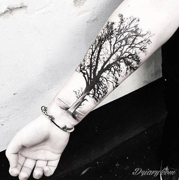 Piękna Inspiracja W Kształcie Drzewa