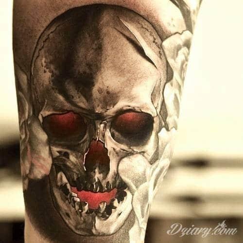 Tatuaż Piękny wzór dziary...