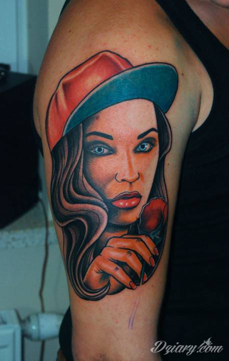 Tatuaż Pierwsza sesyjka