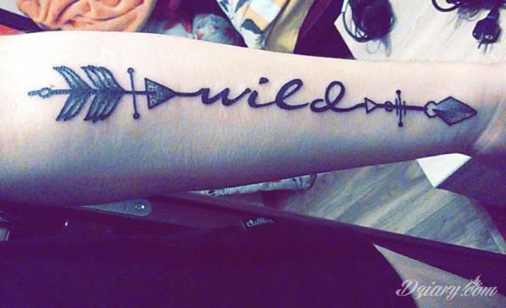 Tatuaż Pierwszy najważniejszy ,...