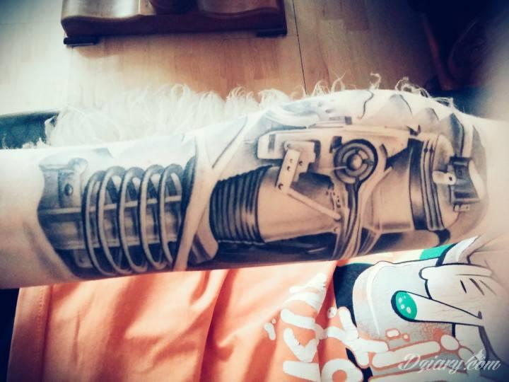 Pierwszy tattoo 😄