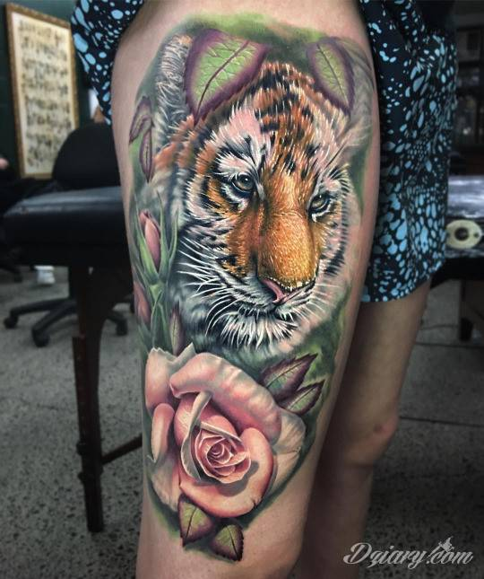 Tatuaż Poznaj tę stronę,...