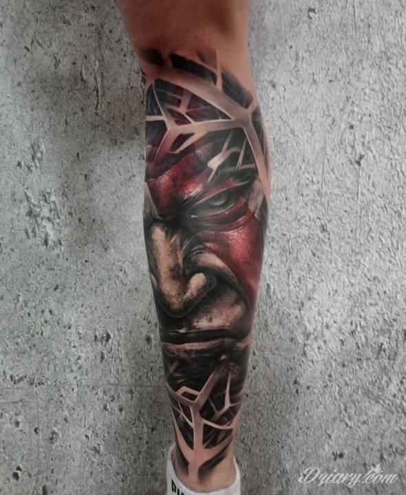 Tatuaż Poznajecie typa? Wykonał...