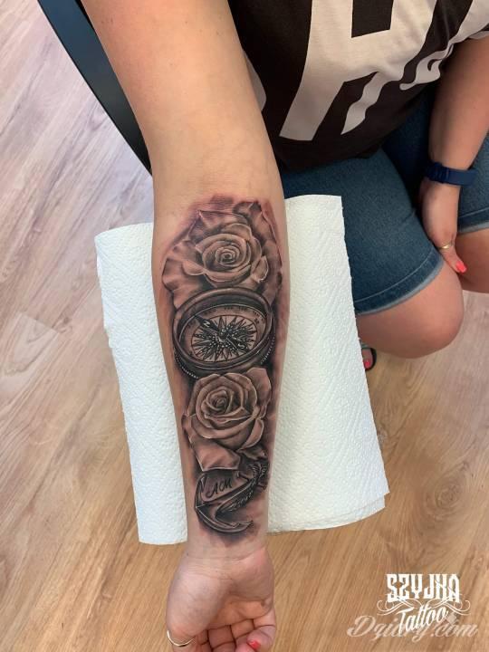 Tatuaż Praca wykona przez...