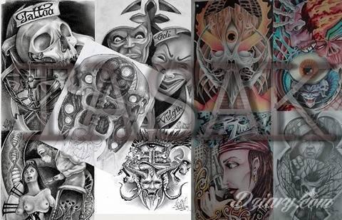 Tatuaż projekty moje