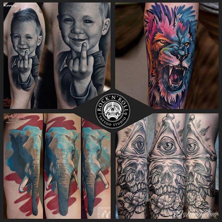 Rocknroll Tattoo And Piercing Katowice