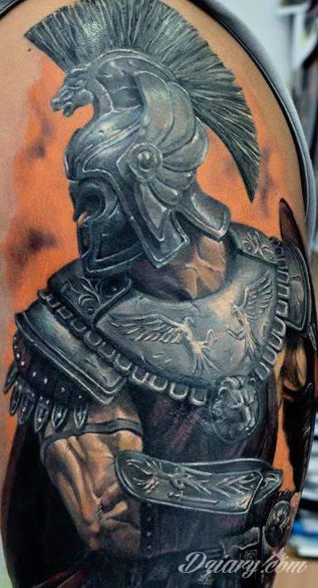 Rzymianin w zbroi