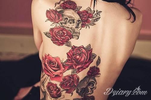 Tatuaż Śmierć leży w...