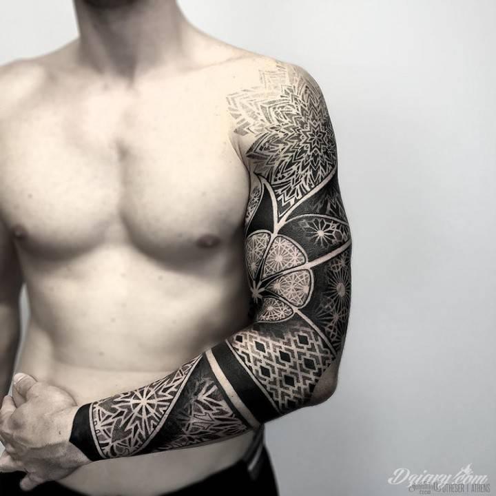 Tatuaż Symbolem wojownika jest...