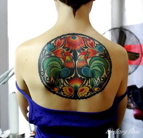 Tatuaż łowicki