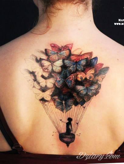 Tatuaż marzycielki