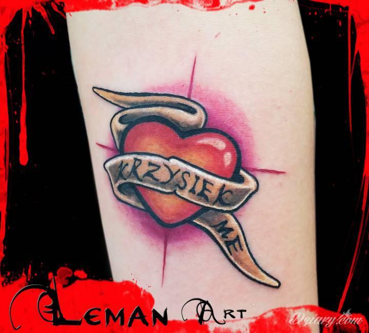tatuaż od Lemana
