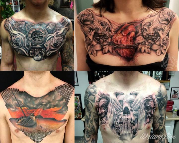 Tatuaż Tatuaże na klatce...