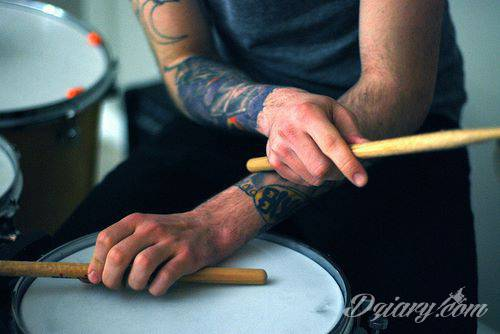 Tatuaż Tatuaże na rękach...