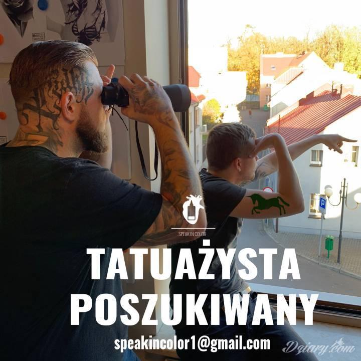 Tatuaż TATUAŻYSTA POSZUKIWANY !!!!...