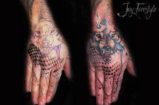 Tatuaże Dlon Wzory I Galeria Tatuaży