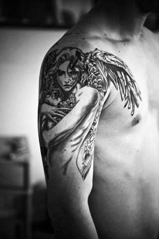 Tatuaże Skrzydla Wzory I Galeria Tatuaży