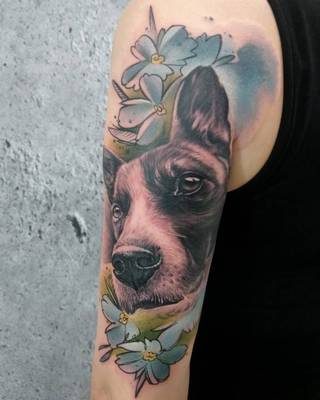 Tatuaże Pies Wzory I Galeria Tatuaży