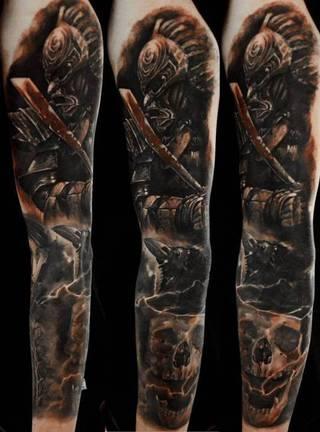 Tatuaże Wojownik Wzory I Galeria Tatuaży