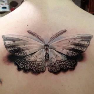 Tatuaże Motyl Wzory I Galeria Tatuaży
