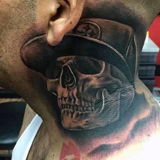 Tatuaże Szyja Wzory I Galeria Tatuaży