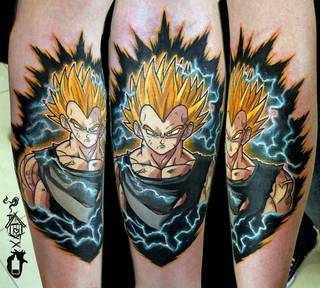 Tatuaże Dragonball Wzory I Galeria Tatuaży