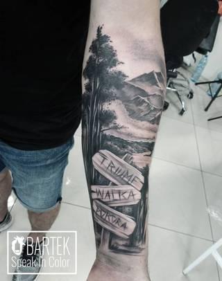 Tatuaże Speakincolor Wzory I Galeria Tatuaży