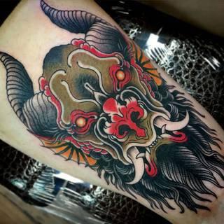 Tatuaże Diabel Wzory I Galeria Tatuaży