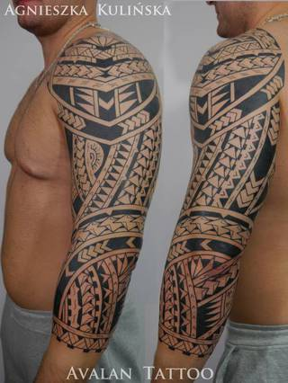 Tatuaże Polinezja Wzory I Galeria Tatuaży