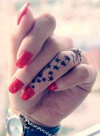 Gwiazdki na palcu