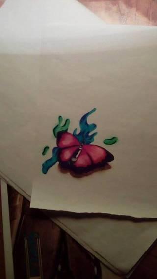 kolejny motylek