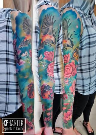 Tatuaże Rekaw Wzory I Galeria Tatuaży