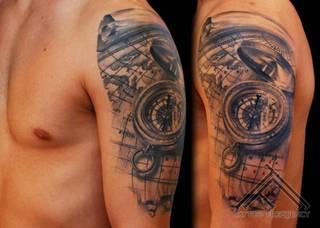 Tatuaże Ramie Wzory I Galeria Tatuaży