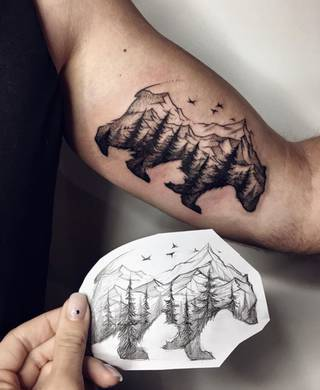 Tatuaże Gory Wzory I Galeria Tatuaży