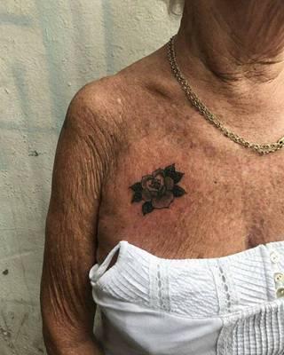Tatuaże Starosc Wzory I Galeria Tatuaży